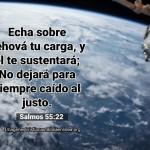 Imagenes de poner las cargas en Dios