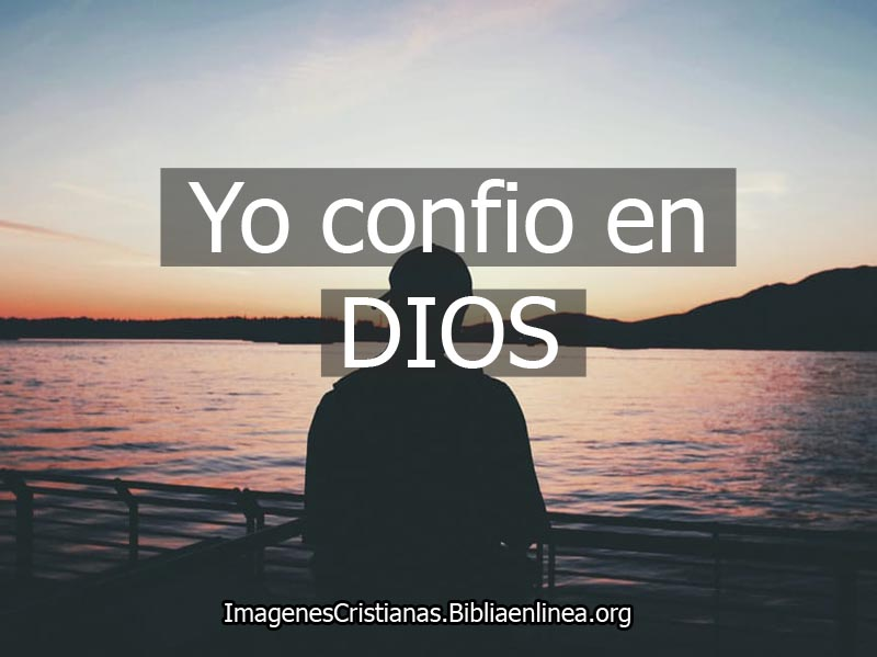 Confiar en dios imagen cristiana