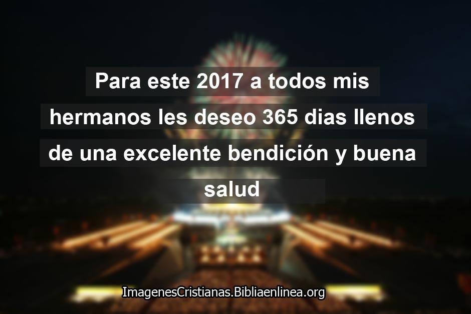 Frases de año nuevo 2017 cristianas