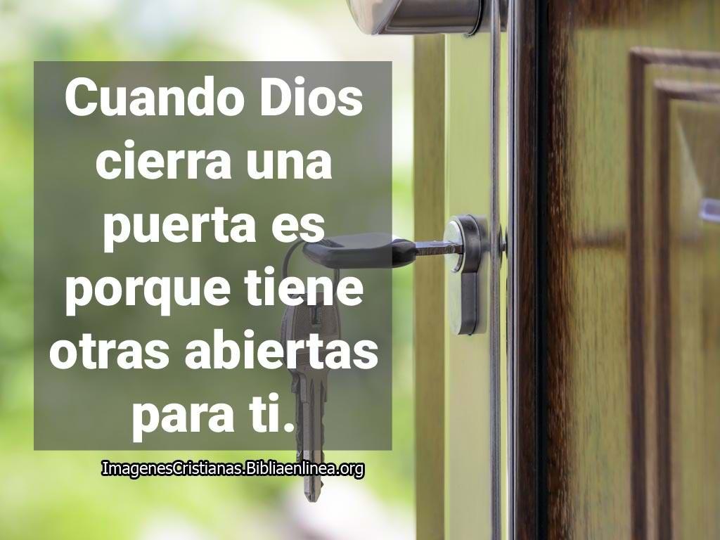 Imagenes cristianas cuando dios cierra una puerta
