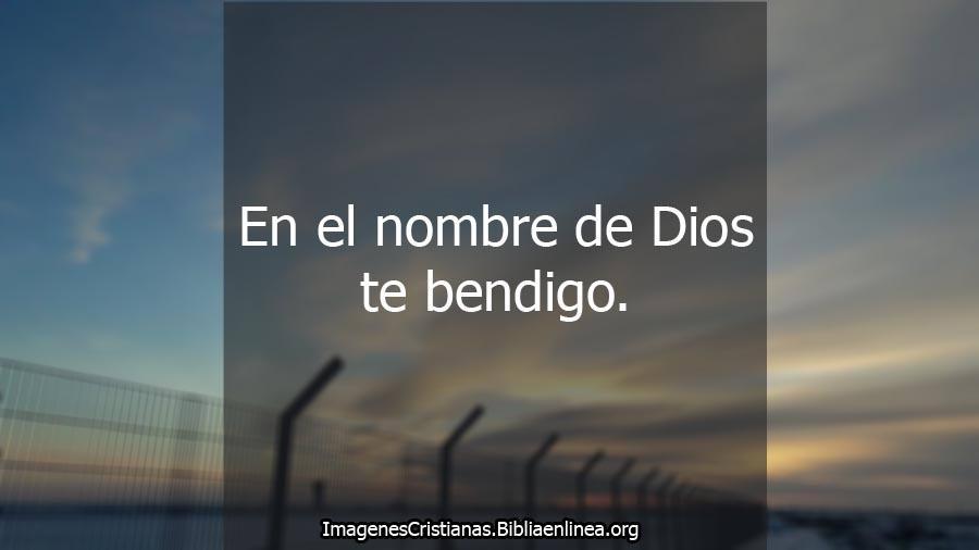Yo te bendigo imagenes cristianas
