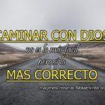 Imágenes cristianas de caminar con Dios