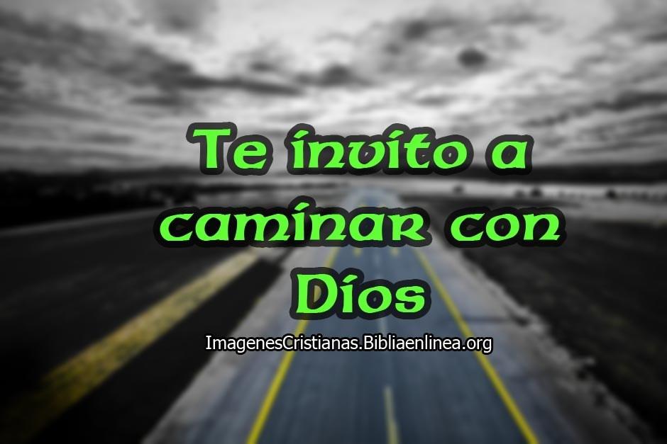 Caminar con Dios imagenes