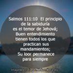 Imagenes con Salmos 111:10 Acerca de la sabiduría