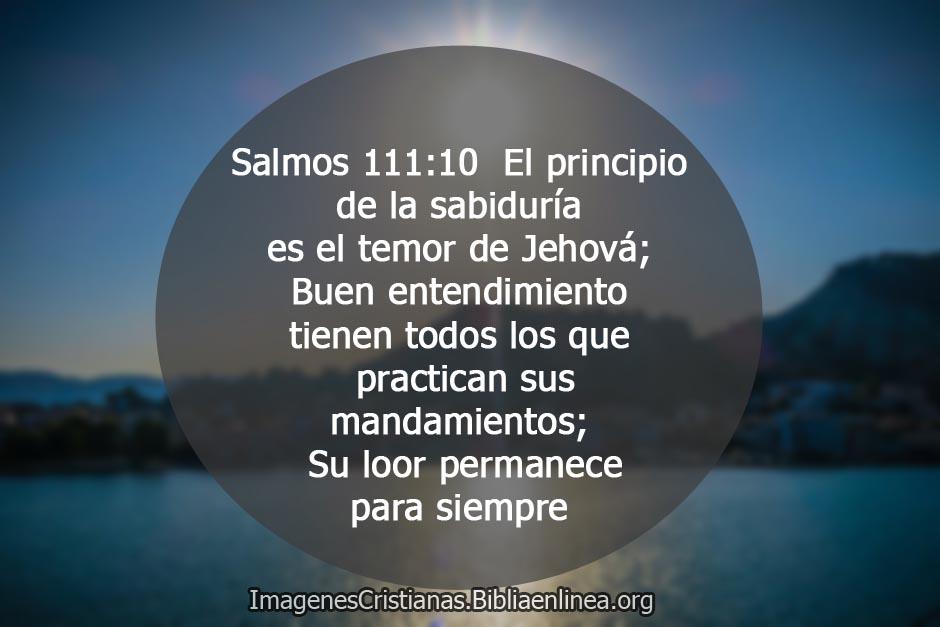 El principio de la sabiduria imagenes cristianas