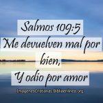 Imagenes Cristianas con Salmos 109:5 Me devuelven mal por bien