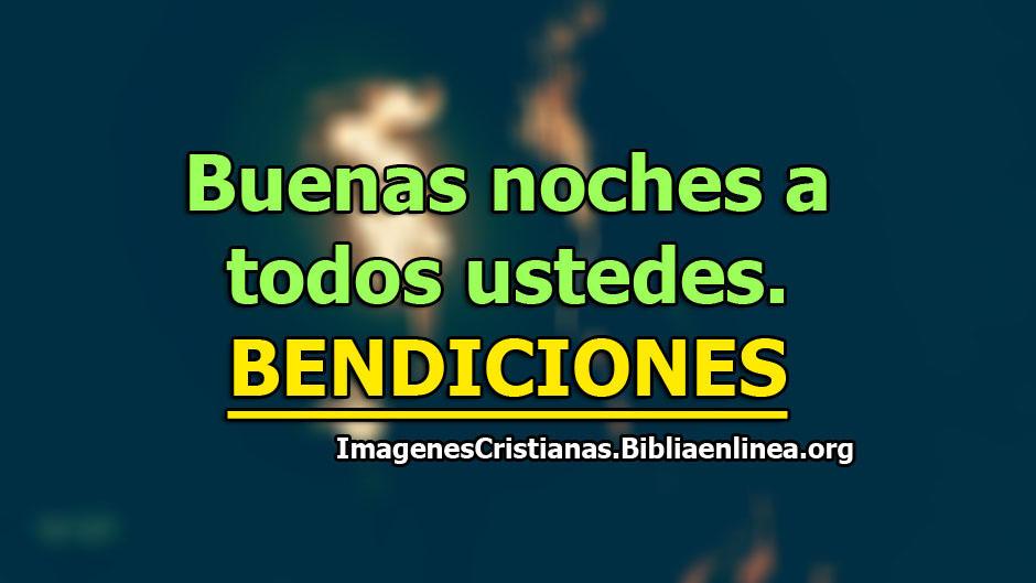 Buenas noches imagenes cristianas