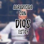 Imágenes cristianas: agradecida con Dios