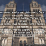 Imagenes cristianas los idolos segun salmos