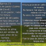Salmo 23: Completo con explicación e imagenes