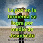 Imagenes Cristianas de paz en la tormenta