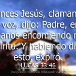Crucifixión y muerte de Jesús: Pasajes y nuestro comentario
