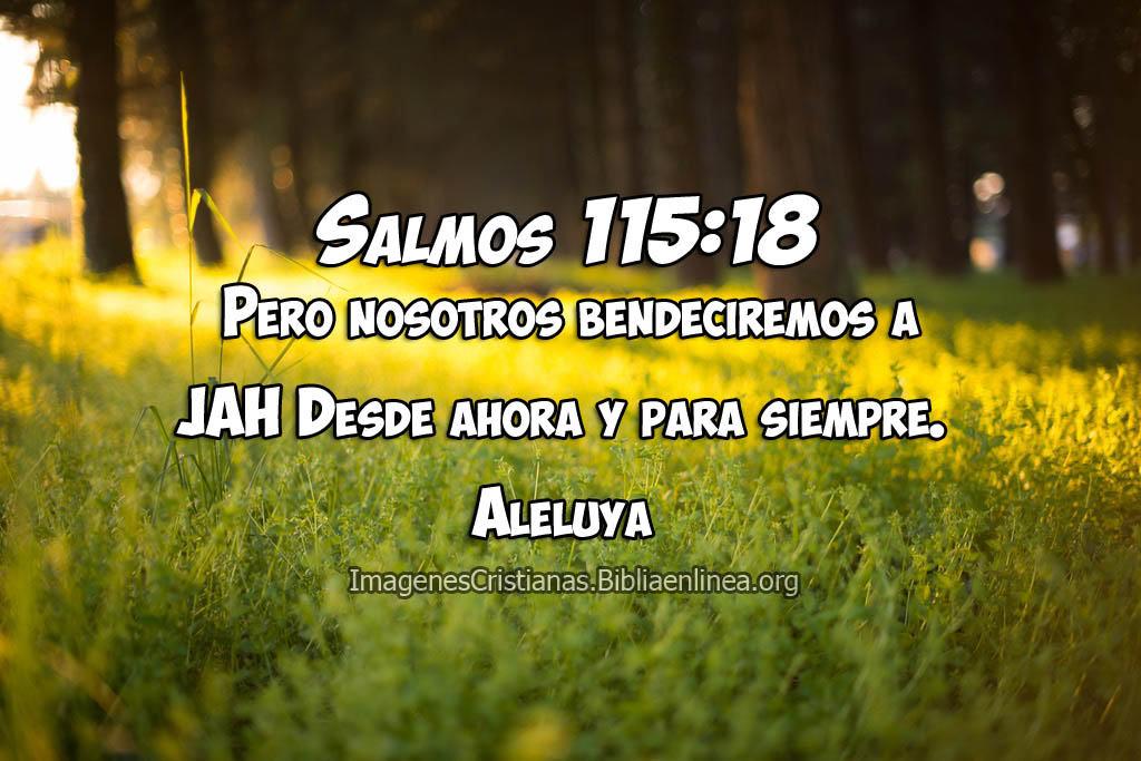 Salmos imagenes bendecir a jah
