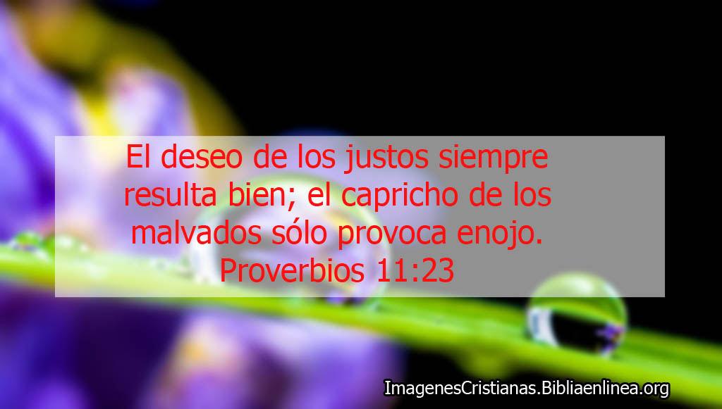 El deseo proverbios cristianos