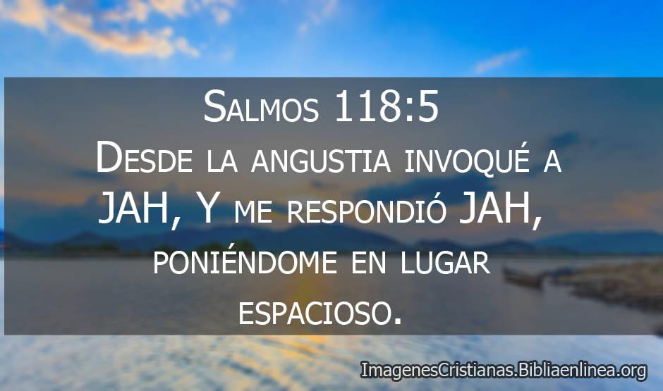 Salmos 1185 Desde La Angustia Invoqué A Jah Imagenes
