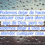 Pensamientos cristianos de Dios