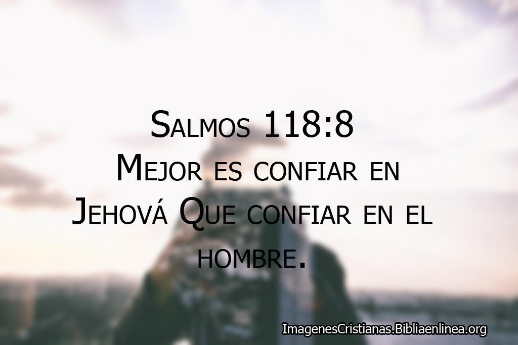 Salmos confiar en dios