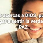 Imagenes Cristianas: La Paz de Dios