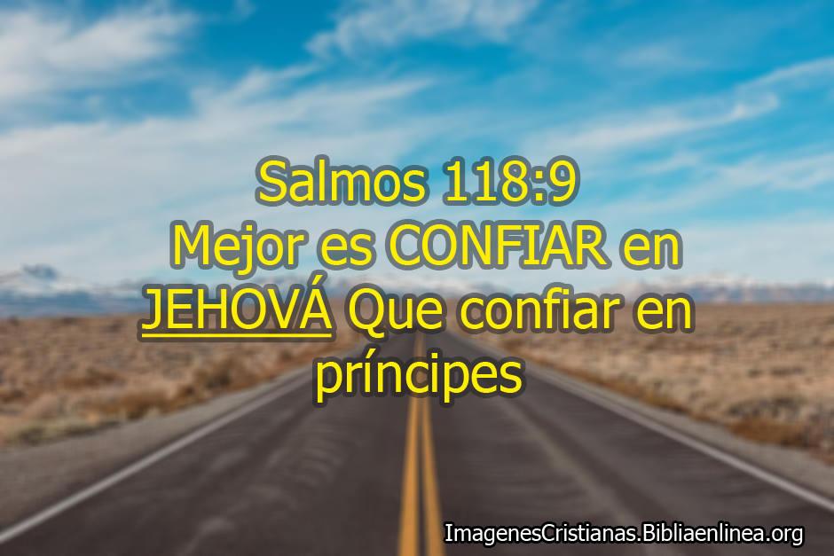 Mejor es confiar en dios