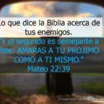 Imagenes cristianas con frases de enemigos