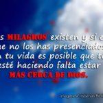 Frases de milagros