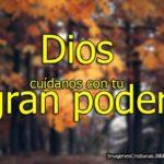 Imágenes cristianas: Dios cuídanos