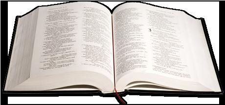 Foto de biblia abierta