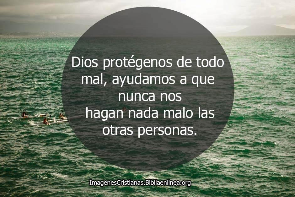 Imagenes cristianas con oraciones proteccion
