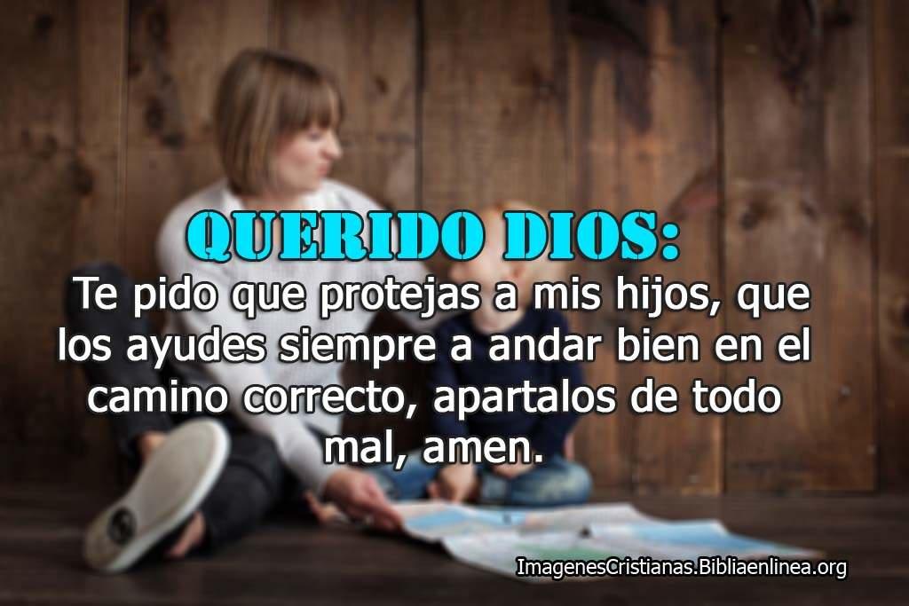 Oracion de proteccion por los hijos