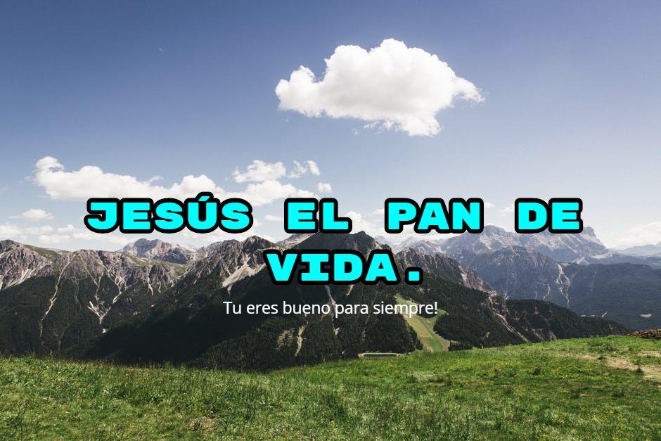Jesus el pan de vida