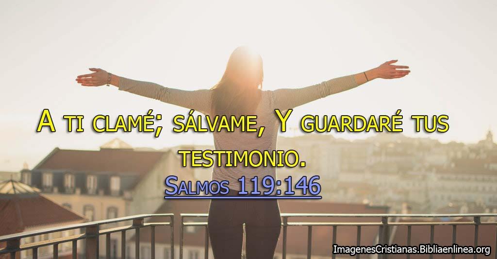 Salmos 119 a ti clame imagen