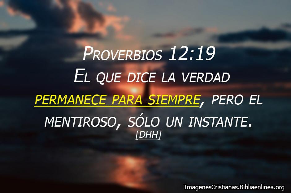 Proverbios decir la verdad