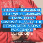 Jehová te guardará de todo mal – Imágenes cristianas