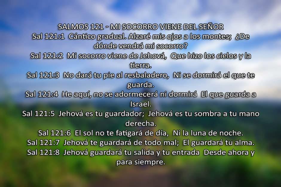 Foto del salmo 121
