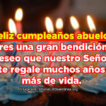 Imagenes Cristianas: Feliz cumpleaños Abuelo