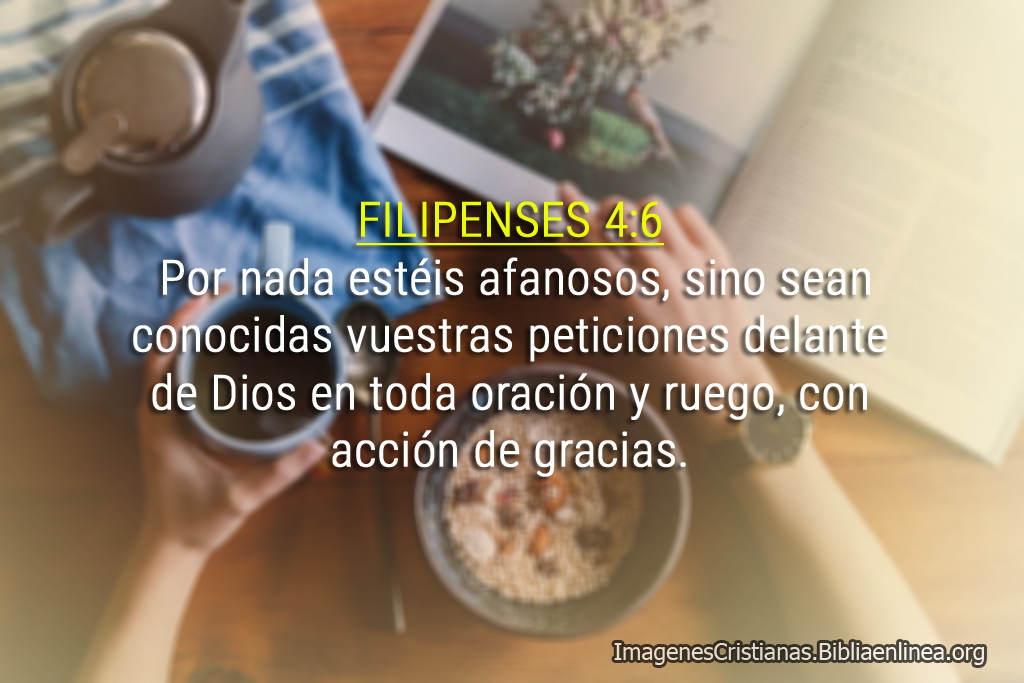Filipenses 4 6