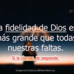 Imágenes Cristianas sobre la fidelidad de Dios
