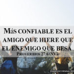 Imagenes con citas Bíblicas de Amistad