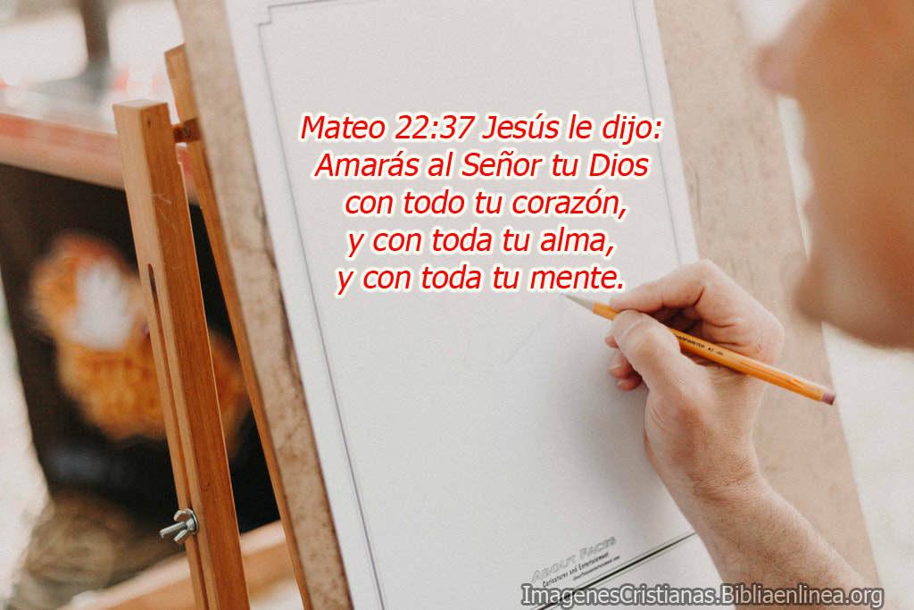 Mateo 22 37 jesús le dijo amarás al señor