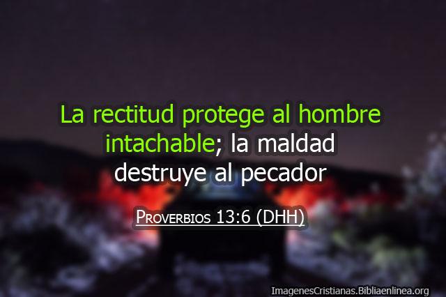Proverbios de la biblia sobre personas rectas