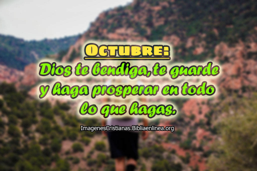 Imagenes para octubre cristianas