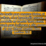 Imagenes cristianas sobre no adorar ídolos
