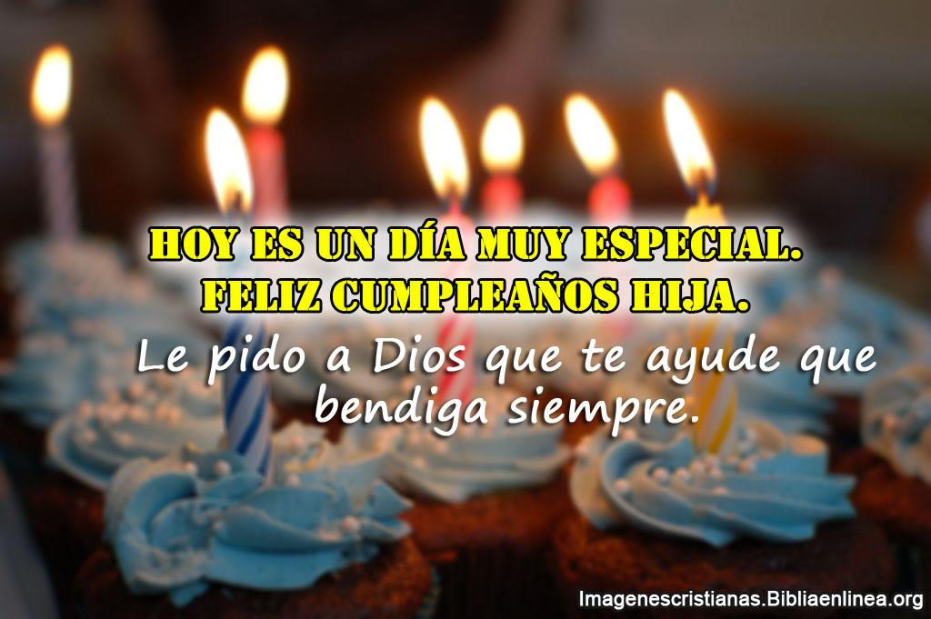 Imagenes cristianas para felicitar a mi hija en su cumpleaños