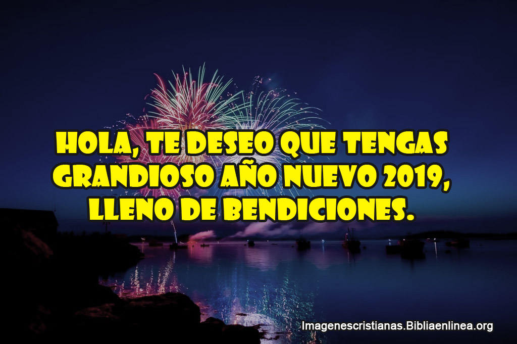 Frases cristianas feliz año nuevo 2019