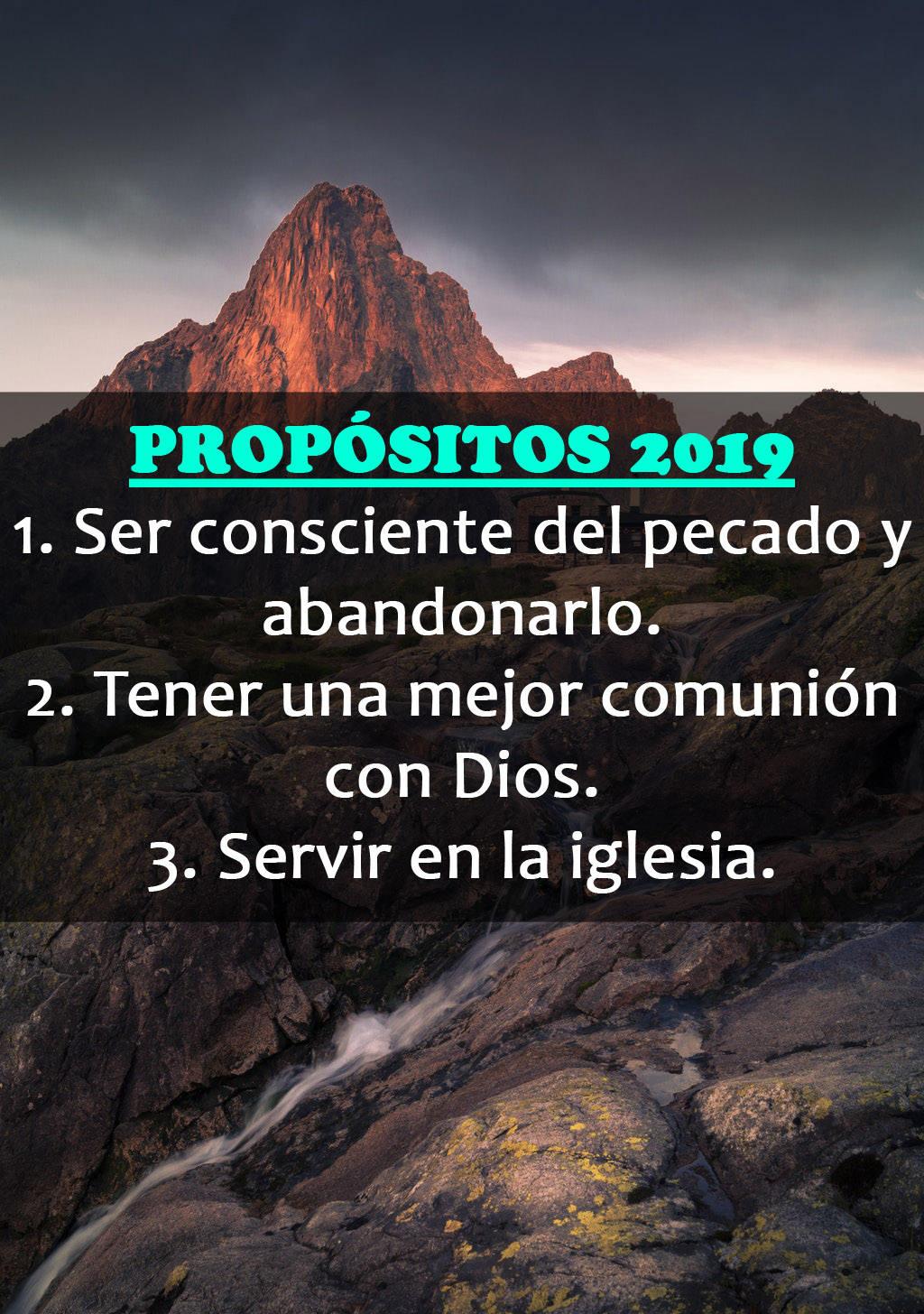 Imagenes cristianas con los propositos para este año
