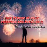 Imagenes cristianas Feliz año nuevo 2019