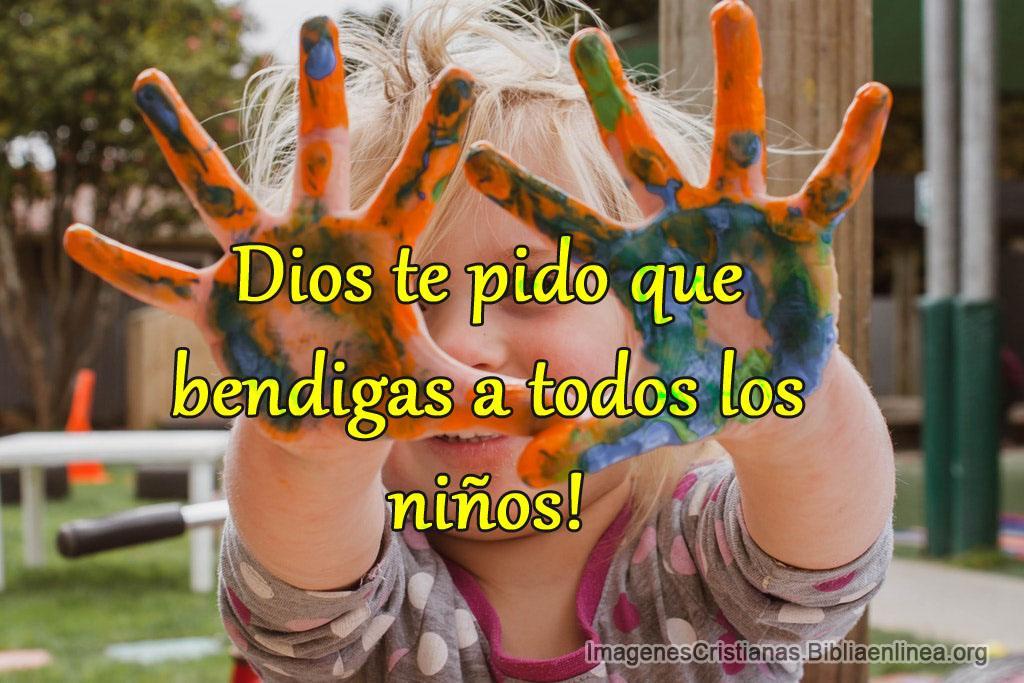 Imagenes dios bendice a todos los niños