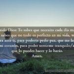 Oracion por paz en mi imagen cristiana