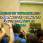 Imagenes cristianas sobre vanidades