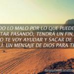 Dios va ayudarte va poner fin a tus preocupaciones